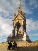 The Albert Memorial, Kensington Gardens
