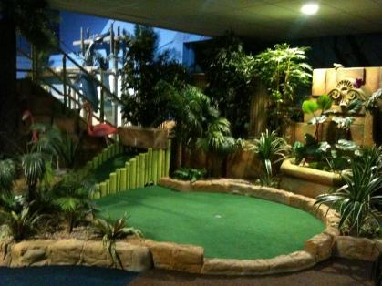 Paradise Island crazy golf