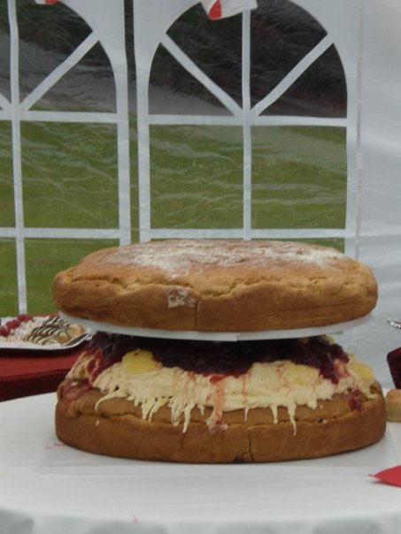 World's largest scone?