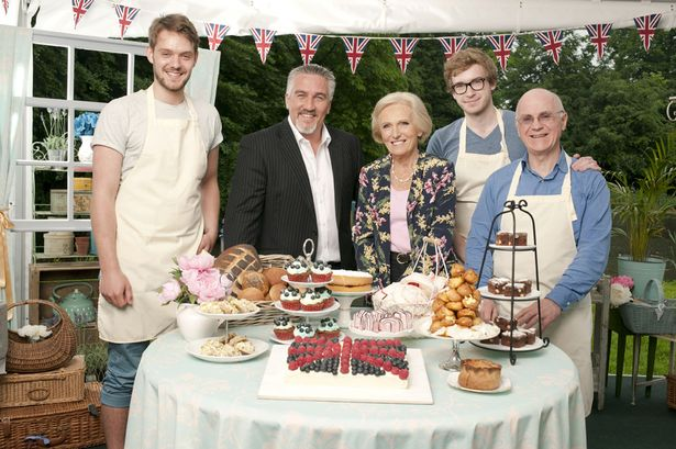 Finalists of the Great British Bake Off 2012