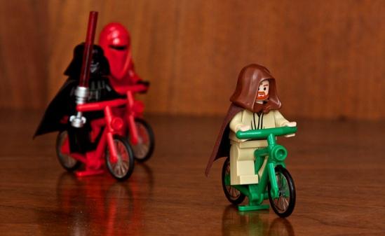 Lego Cycling Star Wars