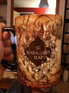 Marauder's Map Mug front