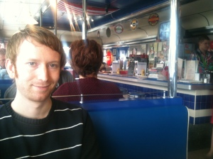 Nial at The 50s American Diner