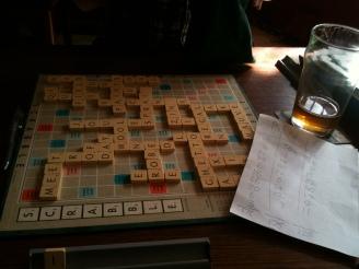 Scrabble final score