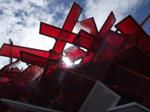 Beatbox installation at Olympic Park