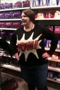 My new Pow! jumper