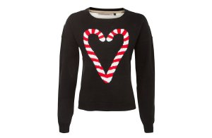 Cute candy cane jumper from New Look