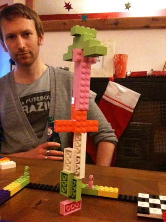 Topple Tower (part of Lego Champion board game) gets serious