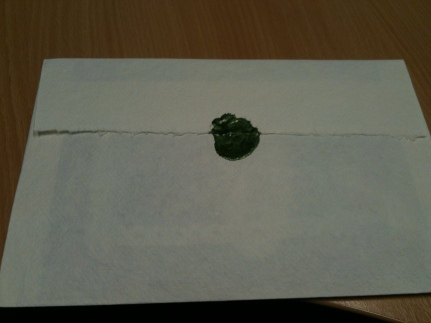 I received a wedding invitation with a WAX SEAL!