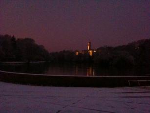 Snowy University Park
