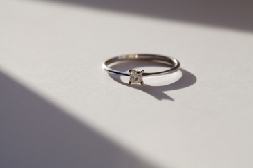 My engagement ring -  ®Lucy Stendall Photography