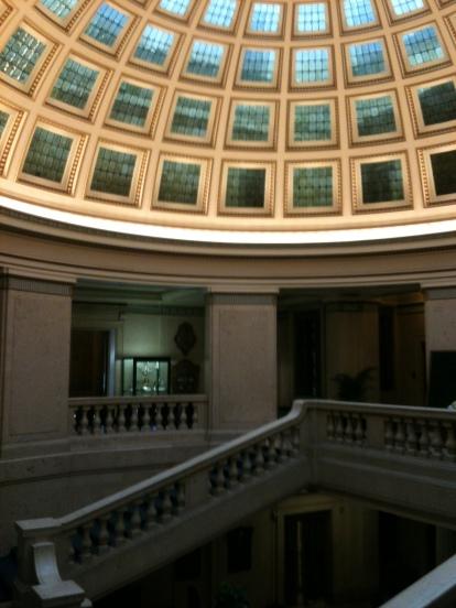 Inside the Nottingham Council House