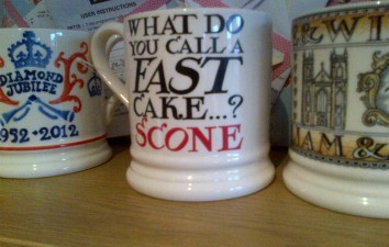 My new Red Nose Day Emma Bridgewater mug - available in TK Maxx and Homesense stores. LOL!