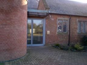 Hoveringham village hall - super cute village