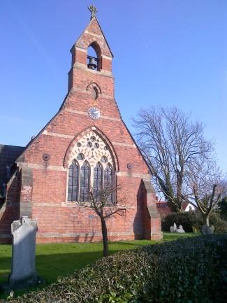 Hoveringham church