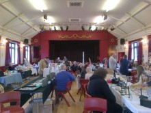 Burton Joyce village hall vintage fair