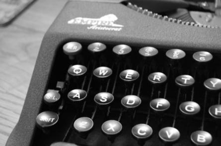 Our new typewriter!