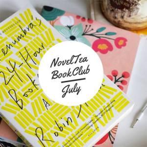 The July NovelTea book Club