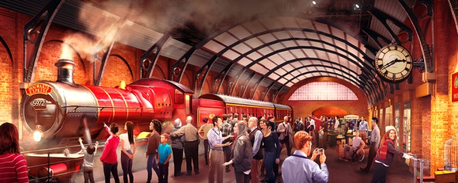 Hogwarts Express at Warner Bros Studio Tour