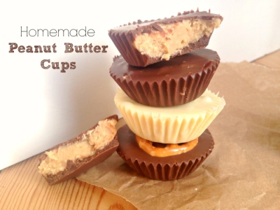 Homemade peanut butter cups by Kerry Cooks