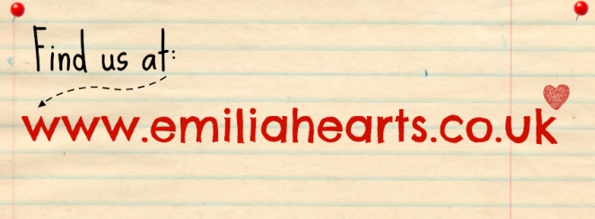 New blog address - www.emiliahearts.co.uk