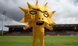 Partick Thistle's new mascot designed by David Shrigley