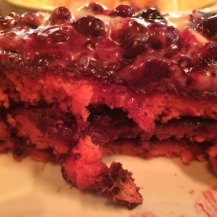 Red Velvet pancakes at The Diner