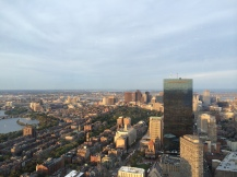 View from the Top of the Hub at the Prudential Tower