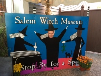 Fun at the Salem Witch Museum