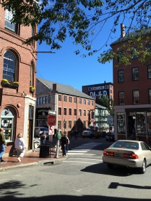 The streets of Portland, ME
