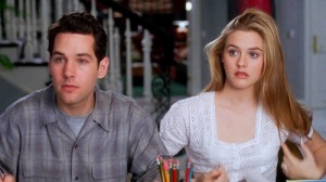 Paul Rudd and Alicia Silverstone in Clueless