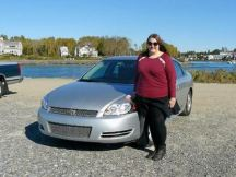 Our rental car and me