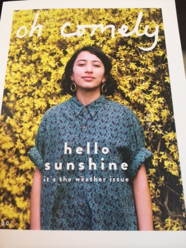 Reading Oh Comely magazine.
