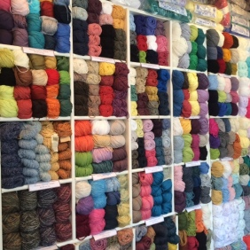 Yarn shopping in Beeston