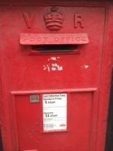 Love a Victorian post box
