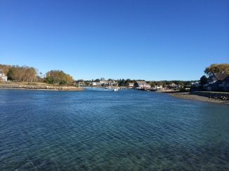 View back across to Kennebunkport