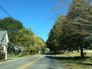 Heading out of Kennebunkport
