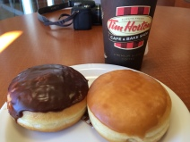 Tim Horton's on the way to Portland, ME