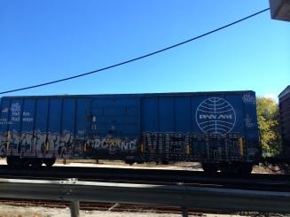 Cool Pan Am rail car